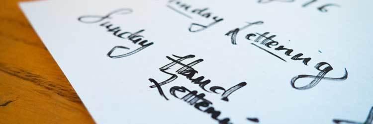 lettertypes curriculum vitae